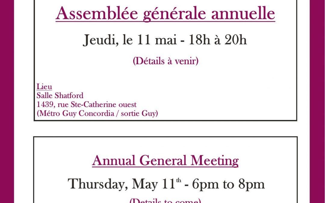 Rejoignez-nous pour l'Assemblée générale annuelle d'ARM
